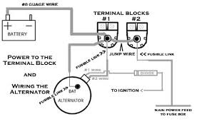 what s the proper way to wire an alternator hot rod forum here s how my alt is setup