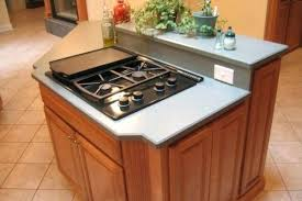 gas cooktop island. Cooktop In Island Small Kitchen Stove Design Idea Center Hood Gas E