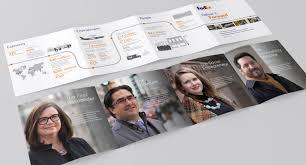 Fedex Brochure Design Art Direction Digital Design Fedex Gcr 2017