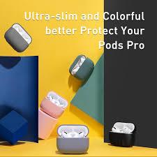 <b>Baseus Non</b>-<b>slip</b> Airpods Pro <b>Case</b> Silicone Wireless Bluetooth ...