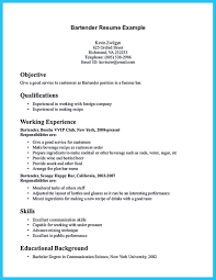 Powerful Resumes Samples Do You Know How To Make A Powerful And Interesting Bartender Resumes 17