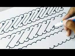 Batik tulis cendrawasih harganya cukup mahal bahkan bisa mencapai puluhan juta rupiah, toppers. Trik Menggambar Batik Parang Sederhana Youtube