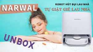 Đập hộp Narwal - Robot hút bụi lau nhà TỰ ĐỘNG GIẶT GIẺ LAU đầu tiên trên  thế giới - YouTube