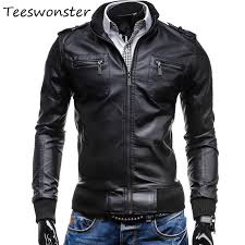 2019 whole motorcycle jacket mens slim fit leather jacket clothing 2017 spring new fashion new korean mens slim leather from tayler 51 17 dhgate com