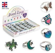 Mood Ring Emotions Chart Details About Colour Changing Pretty Mood Ring Change Feelings Emotion Chart Christmas Gift Uk