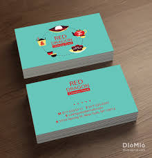 Chinese Food Business Card Cleaning Business Pinterest Name