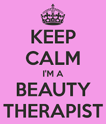 Beauty Therapy Quotes Best of KEEP CALM IM A BEAUTY THERAPIST Beauty Quotes Salon Hair Now