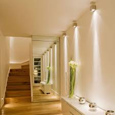 metal cube wall light in hallway john cullen lighting with hall lighting