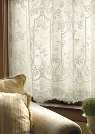 Lace Window Treatments English Ivy Window Treatments Granny Gingham