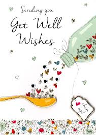 Get Well Card Get Well Wishes Greeting Card Get Well Wishes Get Well