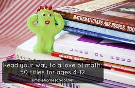 Creative Titles For Math Projects Read Your Way To A Love Of Math 50 Titles For Ages 4 12