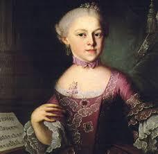 Вольфганг Амадей Моцарт нем wolfgang amadeus mozart биография  Мария Анна Моцарт старшая сестра Вольфганга Амадея