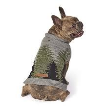 Petrageous Designs Dog Sweater Amazon Com Treeline Sweater Gray Green Medium Pet Supplies