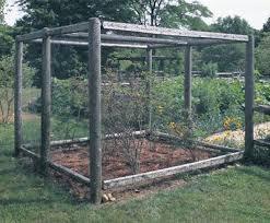 garden enclosure. Custom Cedar Garden Enclosure E
