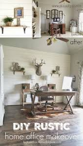 finished office makeover. Shiplap Is A Popular Wall Treatment For Reason: It\u0027s Great Fixing Damaged Walls Finished Office Makeover