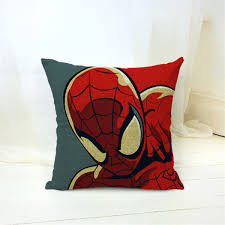 Marvel Heroes Bedroom Decor Cartoon Style Fashion Decorative Cushions Marvel Heroes Printed