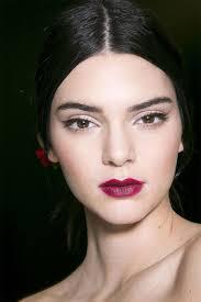 kendall jenner makeup beauty hair plum lipstick shades trending beauty