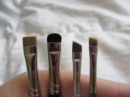 mac brushes. (l-r) 212, 214, 266, 208 mac brushes