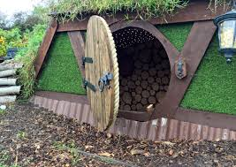finished children s hobbit playhouse finished children s hobbit playhouse inside