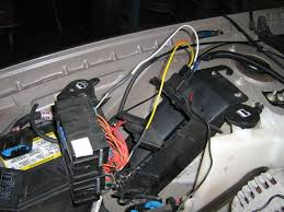 svis injection conversion 2003 impala the fuel pump relay is spliced into the wiring harness in the fuse panel it s neater to make the splice under the panel