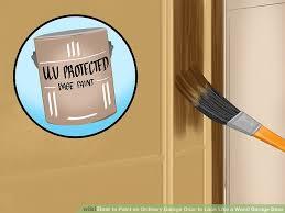 image titled paint an ordinary garage door to look like a wood garage door step 6
