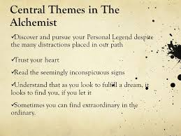 the alchemist by paulo coelho ppt video online central themes in the alchemist