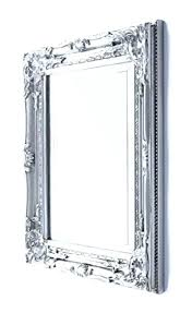 wall mirrors french style wall mirrors small silver mirror shabby chic vintage ornate bedroom hallway