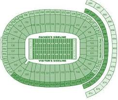 Lambeau Field Seating Chart Lambeau Field Seating Chart Not A Bad Seat In The House