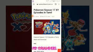 Pokemon xy episodes download in tamil - YouTube