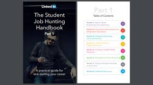 three great new career guides from linkedin com career ready linkedin student job hunting handbook part 1 how to kick start your career
