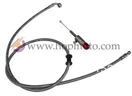 Hydraulic <b>Clutch</b> oil hose with <b>master</b> cylinder pump <b>refitting</b> for dirt ...