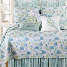 c f home green st augustine f q quilt set