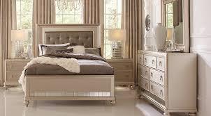 Image Of: King Bedroom Sets Silver