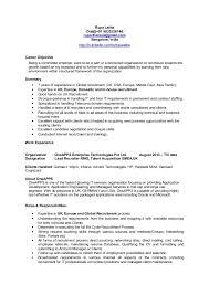 Emea Europe Uk Recruiter Cv