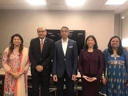 19th & 21st surgeon general of the united states. Indian American Female Physicians Host Dr Vivek Murthy Khizr Khan At Retreat Indian Americans Indiaabroad Com