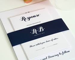navy blue wedding invitations whimsy and script wedding White And Blue Wedding Invitations wedding invitations in navy blue royal blue and white wedding invitations