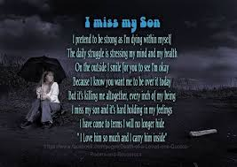 Loss Of A Son Quotes Unique Loss Of A Son Quote Google Search Loosing My Christopher Worst