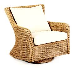woven swivel rocker lounge chair