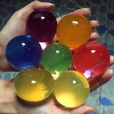 <b>10pcs</b>/<b>lot Big Crystal</b> Soil Mud Hydrogel Gel Kids Children Toy ...