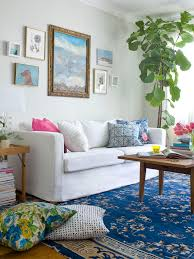 interior beautiful living room concept. Interior: Cool Ocean Themed Contemporary Sitting Space That Using Boho Design Concept Furnished With Modern Interior Beautiful Living Room