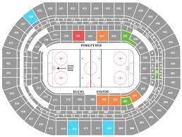 Punctilious Anaheim Pond Seating Chart Anaheim Ducks Stadium