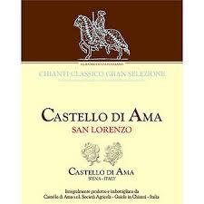 Castello Di Ama 2015 Chianti Classico Gran Selezione San Lorenzo