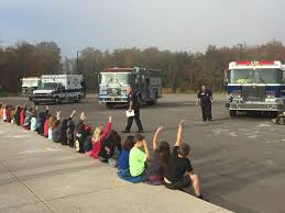 evergreen elementary hosted event for fire prevention week   essays about fire prevention and safety two students won the essay contest and received bikes as their prizes from left chief koch essay contest