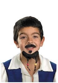 kids pirate mustache goatee