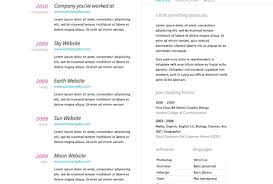 Unforeseen Cool Resume Designs Tags Free Resume Design