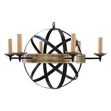 armillary chandelier