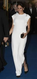 Don O Neill Designer Dresses Meghan Markle Dazzles In White Dress By Kerry Designer Don O