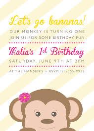 part invites monkey birthday party invites k jo design https www etsy com