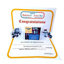Certificates Of Appreciation Printed Certificate Appreciation Letter With Envelope For Employee Student 3d Pop Up