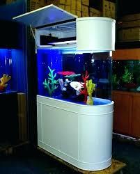 Aquarium furniture design Starfire Glass Office Lushome Office Desk Fish Tank Tanks Decorative Furniture Row Racing